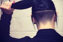 Hair - sidecut, undercut ym.