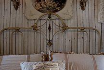 Спальня / Shabby chic bedroom