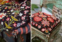 Textiles Cultural Embroidery Cushions / Inspiration is key