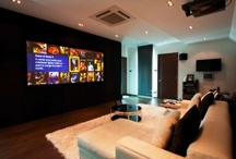 DreamVision Cinema / Dedicated cinema rooms and multi use living rooms set up with DreamVision projectors.