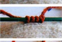Knit pick-up