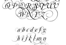 Fonts / by Frabjus Lady