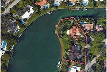 FOR SALE ~ Residential Land Combo / PRIME OPPORTUNITY TO COMBINE 2 LOTS IN BAY POINT LOCATED at 625 Buttonwood Lane & 4455 Island Road!  Waterfront Oasis on Point Lot in a Protected Harbor with no Bridges to Biscayne Bay. Over 450 feet of Waterfront on 67,453 Square Foot LOT on Sabal Lake to Build your Dream Estate | Listed For: $15,490,000 www.625buttonwoodlane.com