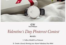 My Dream Valentine's Day with DW / Fresh Flowers // Cozy cuddles // Good Coffee // Lots of Love // Daniel Wellington