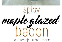 All About Bacon / The best bacon recipes that Pinterest has to offer! Salty, sweet, and delicious recipes! Get cooking!