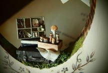 N original  miniature&dollhouse / #handmade#dollhouse#miniature