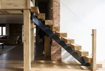 Wood Stairs / Solid wood staircase design