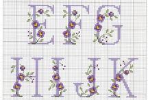 Alfabet / bokstaver