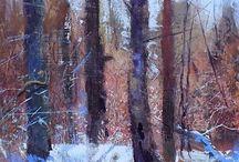 skog träd
