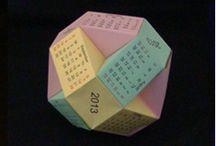 Origami kalendáře