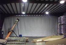 Agriculture Distributor | Insulated Warehouse Curtain Wall | Retractable InsulWall® / Randall Manufacturing's Insulated Warehouse Curtain Wall helps create a flexible, retractable wall for product distribution areas.