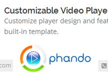 Customizable Video Player / Phando have done years of research before writing the first line of code and thus ensured that they don't have to go back and make any changes. They had a very clear plan to work upon thus after inception of the team it took them mear 3 months to code and test the whole platform.