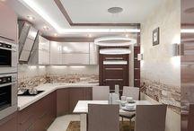 Дизайн интерьера / Дизайн-проекты помещений (квартиры, коттеджи), пакет чертежей для строителей, авторский надзор, консультации.