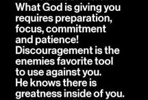 "Stay ""positive  & focused"" prayer"