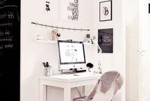 Desk's decoration