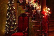 Vianočné - girlandy a vence v byte