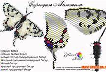 3.5 sommerfugle og dyr glasperler