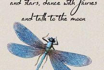 Blue Dragon Flies