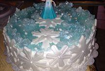 frozen cake / by Tammy Schmidt