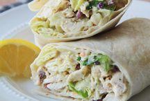 Wraps / Lunch wraps, salad wraps, chicken wraps