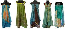 Sari Wrap Skirts / Sari Wrap Skirts and Ways to Tie them / by Darn Good Yarn