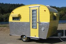 Vintage Travel Trailers! / Interiors and exteriors of some of the cutest, to-die-for, Gotta. Have. One. Now vintage trailers.  / by Kathleen Moore
