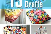 Buttons crafts ideas