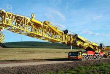 Liebherr LTM 11200-9.1 - this colossal mobile crane has the longest telescopic boom in the world - 100 meters (328 ft)!