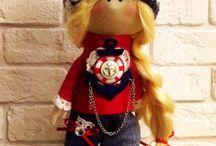 Интерьерные куклы Ирины Филимоненко