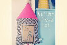 Handmade by Tut&Jut / Handgemaakte accessoires door Isa & Sjannie van Tut&Jut kinderatelier