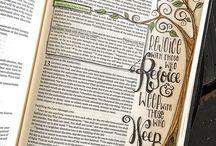 Bible Journaling❤