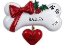 Personalized Pet Christmas Ornaments / He's your Best Bud... She's your BFF... You ran together, play catch, binge on the couch all weekend and they never complain. All they ask for are snuggles and some fun time with you. Your pets are truly your best friends. Celebrate the Holidays, with a Personalized Pet Ornament for the one who has been there for you all the time.