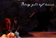THe BiG FoUr / its the mixture of Rise of the Gurdians, Tangled, Brave and how to train your dragon...