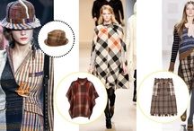 Tartan Connections / From Catwalk2Closet our choice of tartan / plaid / checks this season.