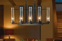 Rustic Lighting Ideas / A collection of photos of homes featuring rustic decor and lighting.