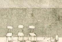 Incisioni Calcografiche - grafica d'arte Pasquale Scognamiglio