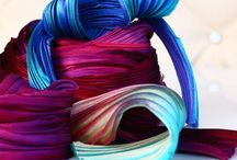 Fabric and ribbon / by Linda Fordyce