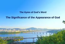 """The Hymn of God's Word """"The Significance of the Appearance of God""""   The Church of Almighty God"""