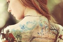 *-Nous sommes les tableaux des tatoueurs! / Tout les style de tatouage sont de l'art!