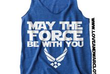 May the FORCE be with us / Air Force | Military