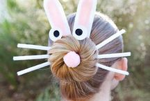 easter hair decoration