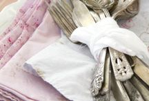 Love old silverware / by Barbara Smith