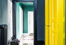 Home: pop of color