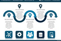 Product Roadmaps / An extensive range of product roadmap and strategy templates for Powerpoint that will help any product manager deliver an awesome product strategy message. Whether you're doing agile planning or looking for long time frame timeline templates we're sure you'll find the strategic roadmap diagram that's right for you!