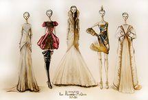 Art That Inspires 》Fashion Illustration / by Zero Cappucci