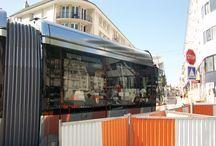 LE TRAM DE TOURS / Le tram à Tours.