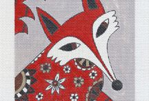 Sharon Hendy Moman Needlepoint from Bedecked and Beadazzled