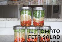 Mason Jar Meals / Simple, healthy and delicious mason jar meal recipes.