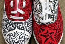 Nápady- art boty / Nápady jak mít originální botky