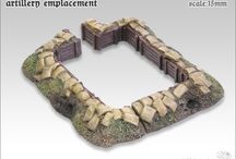 Terrain 15mm / Terrain for miniature games / wargames in a scale of 15mm. Most of the terrain is for the great war and WWII setups in europe.